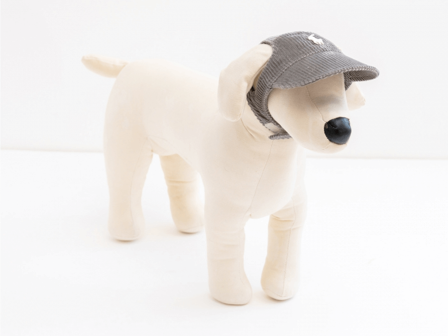 MARKING CAP (light gray) - 犬の帽子のお店 I.M.GALLERY ONLINE SHOP